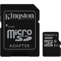 Карта памяти Micro SDHC Card Kingston (10 class) 32GB